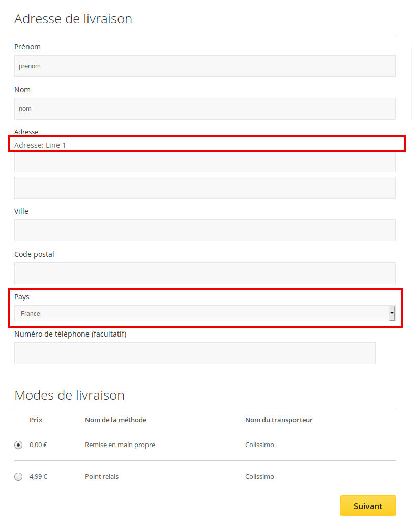 How To Remove Address Line 1 And Country On The Magento Forums