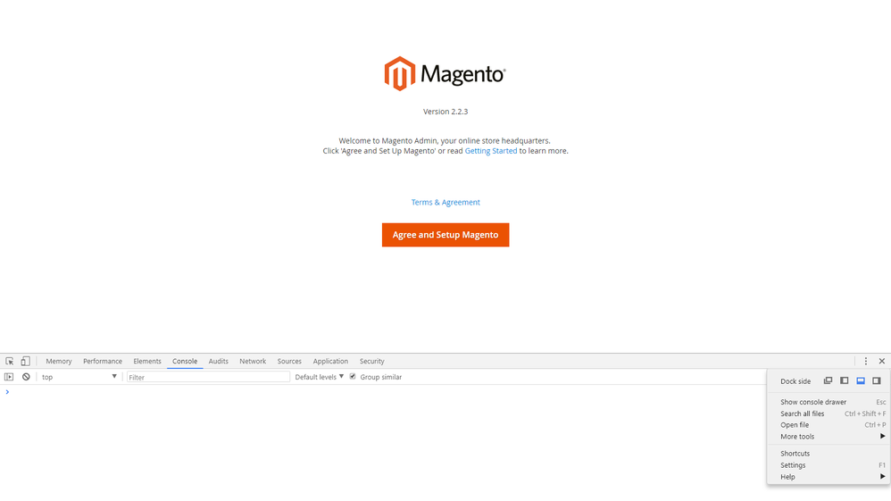 Solved: Magento 2.2.3 can't install with my localhost