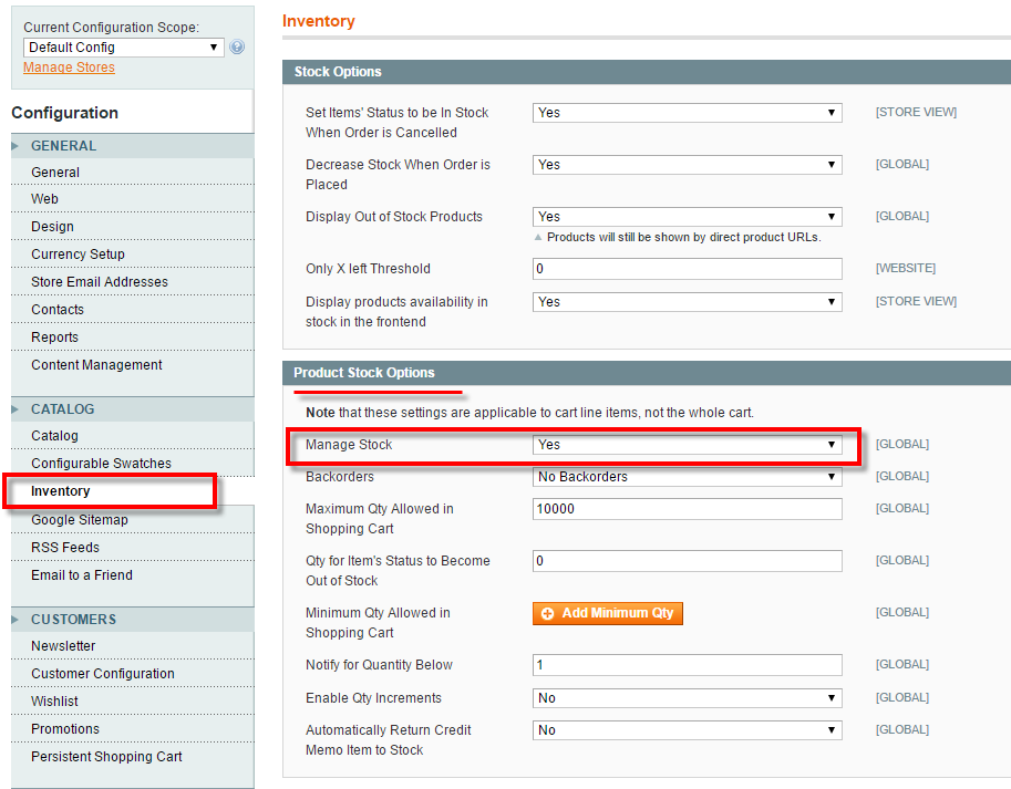 magento unventory manage stock.png