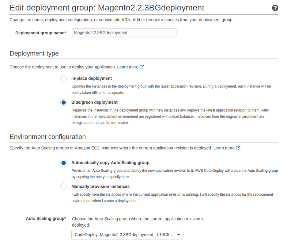 What is the efficient way of using AWS codeDeploy     - Magento Forums