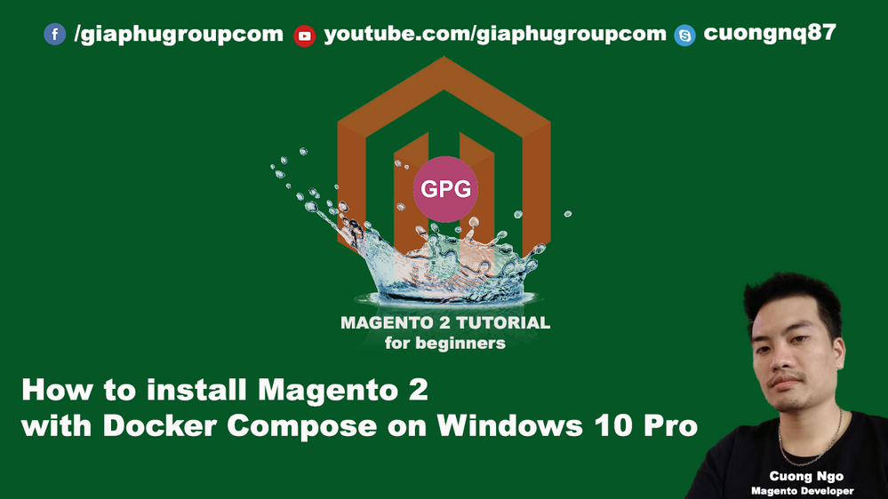 How to install Magento 2 with Docker Compose on Wi    - Magento Forums