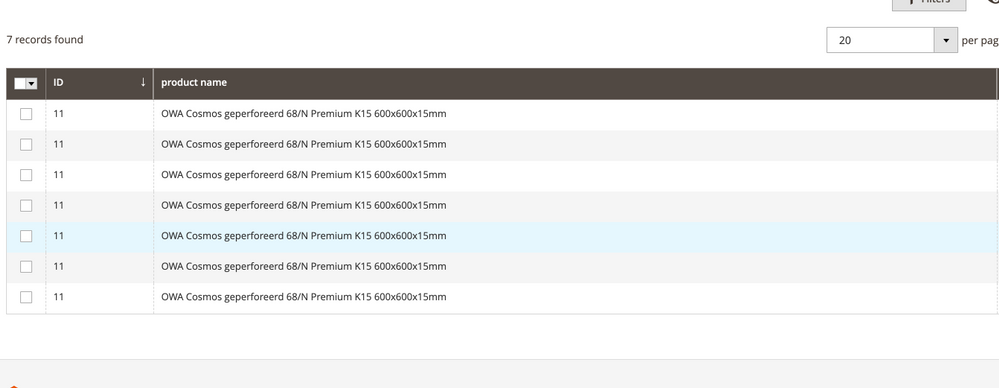 Custom module ui grid filters malfunction - Magento Forums