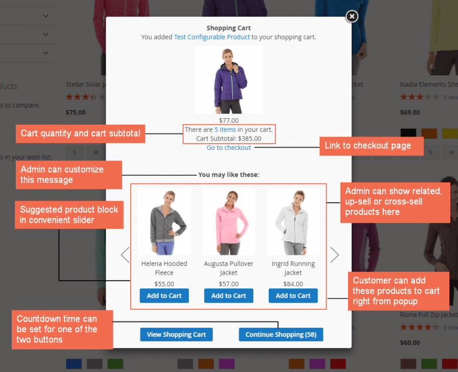 add products to cart without loading page again - Magento Forums
