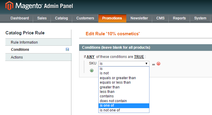 magento cart rule settings.png