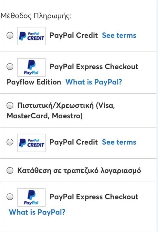 Disable paypal credit and payflow from magento 2 - Magento