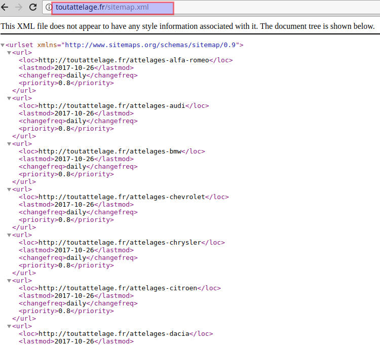 solved duplicate sitemap xml file issue on magento ver 1