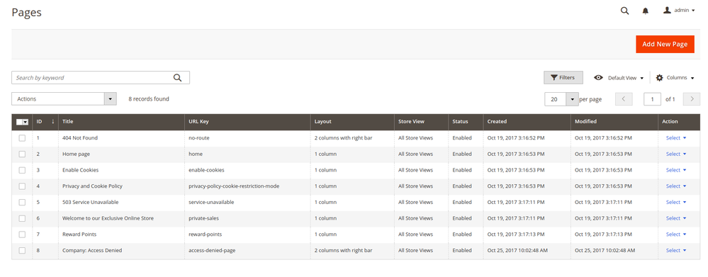 Admin Grid - filter for dynamic param - Magento Forums