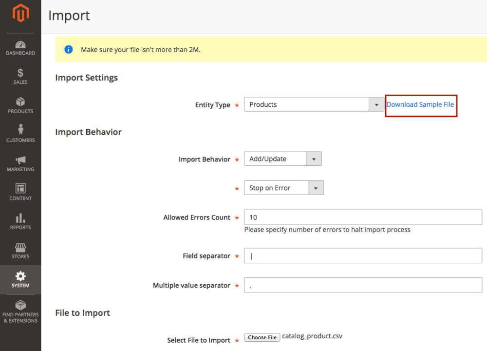 We Magento Columns Can't Required Forums Sku Find -
