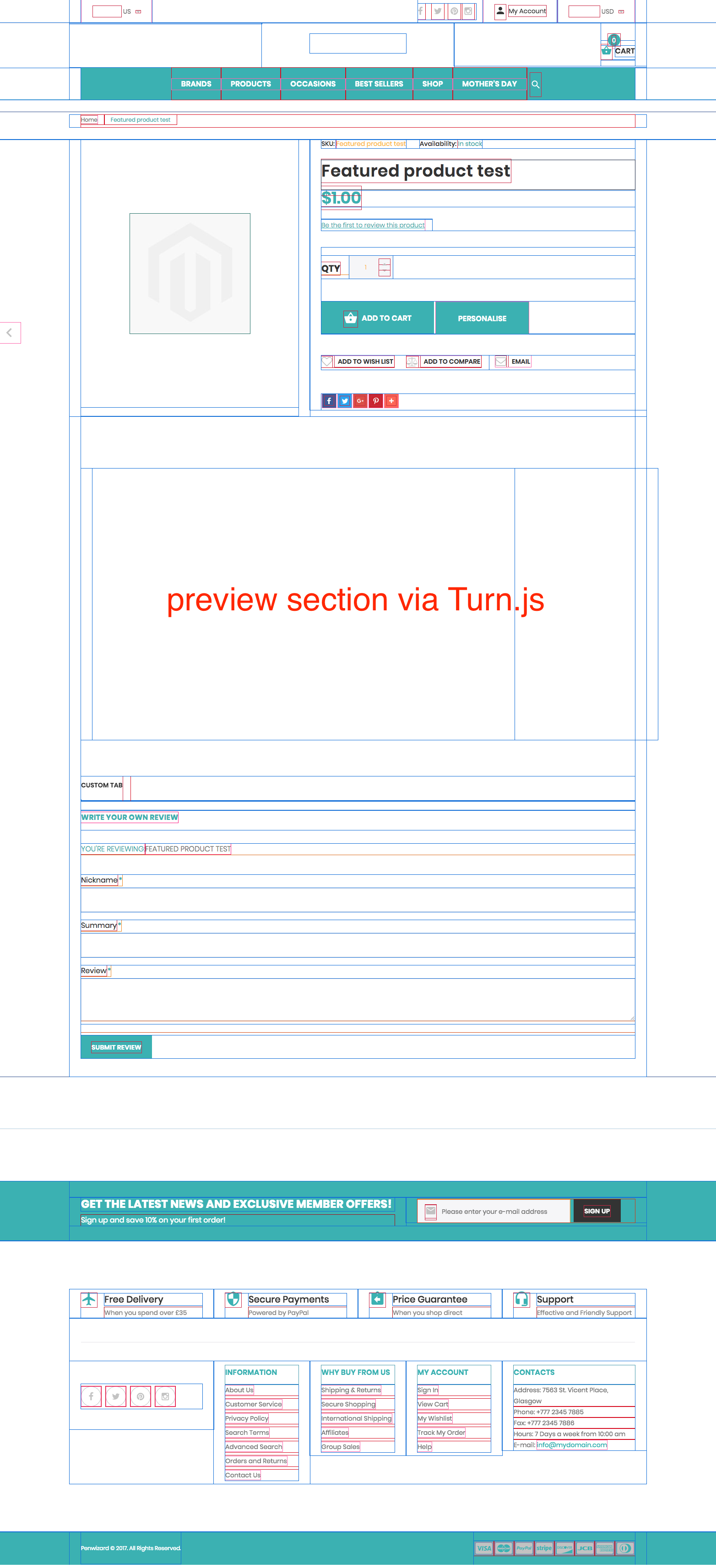 Solved: Turn js in a CMS block - Magento Forums