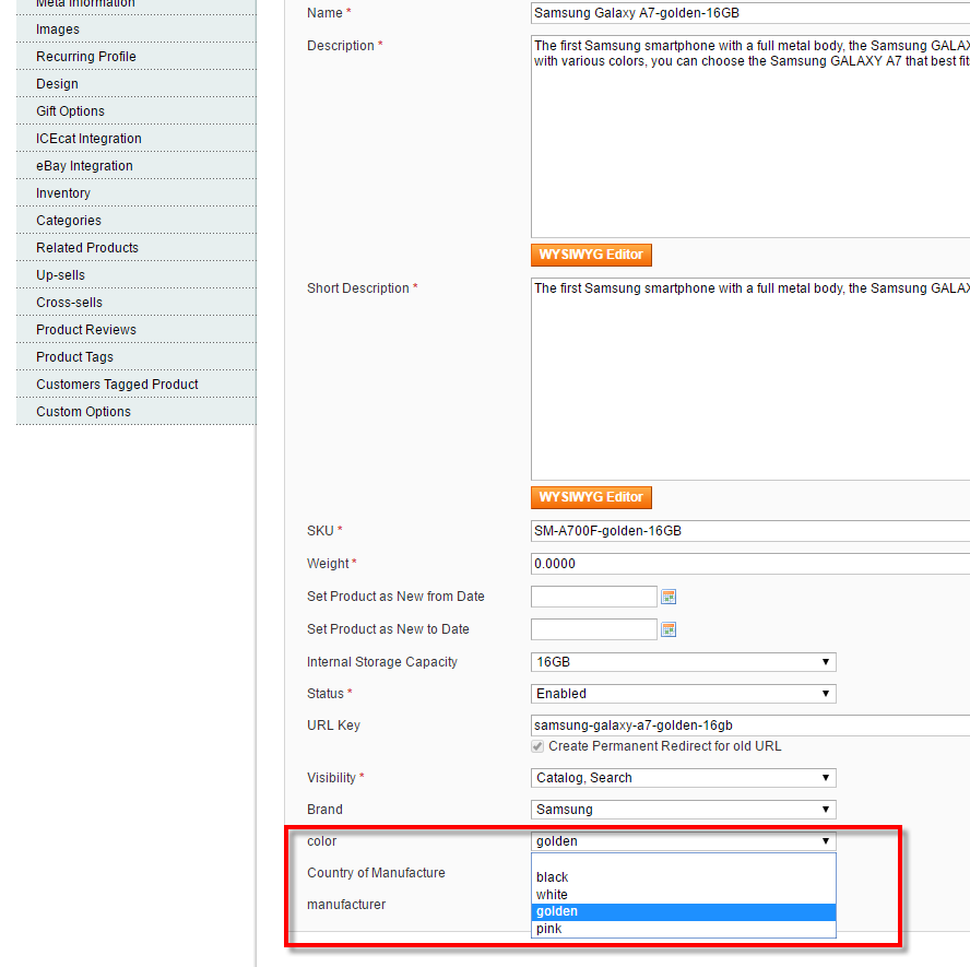 magento attribute value assigned to product.png