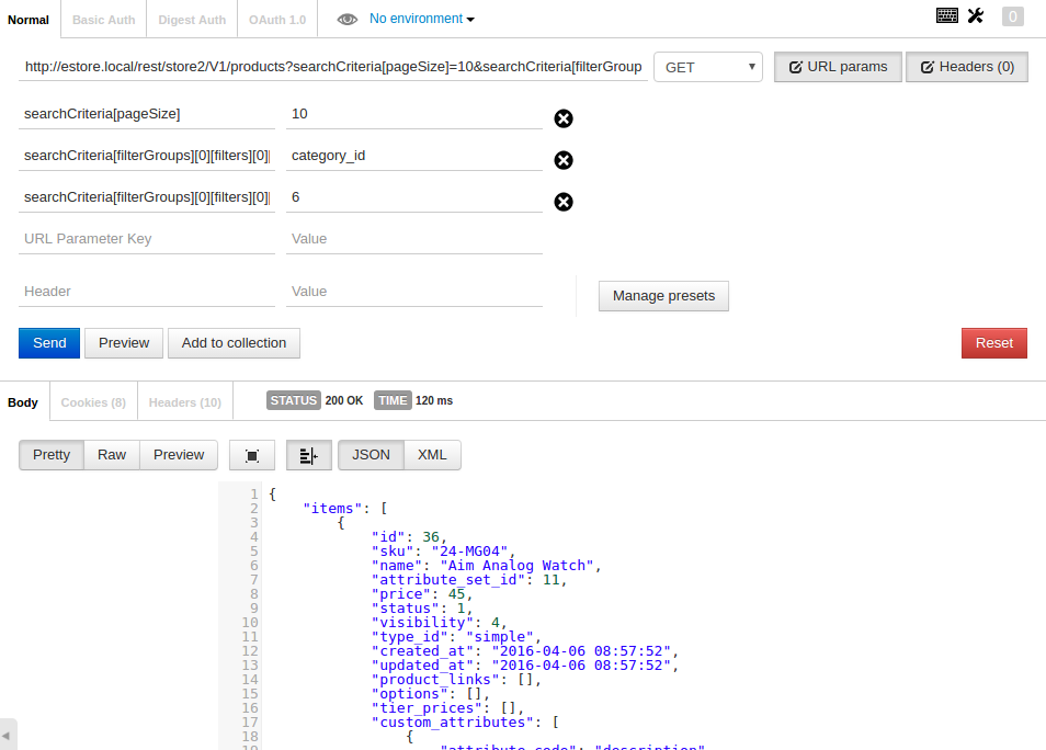 Magento REST API POST product store_view_id | Ho